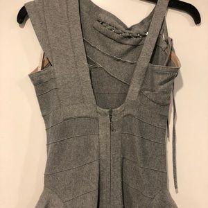Herve Leger Dresses - Herve Leger stretch bandage grey dress